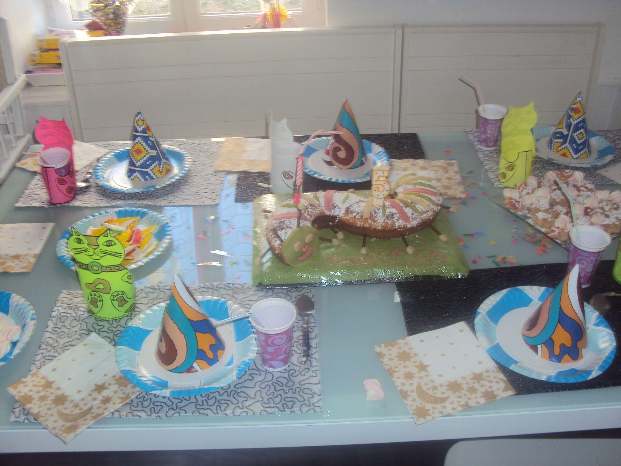 Decoration table anniversaire - Decoration de table d anniversaire ...